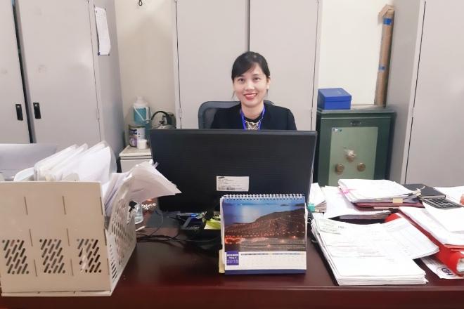 Chị Ngô Hồng Loan