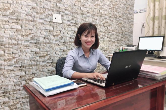 Chị Nguyễn Thị Cẩm Tú