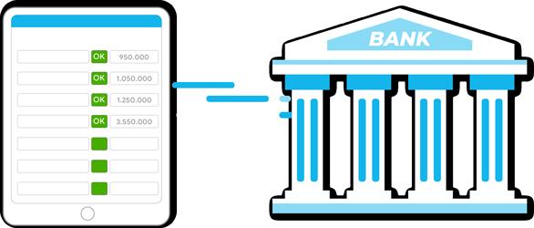 Tự động hạch toán kế toán chứng từ thu/chi tiền gửi