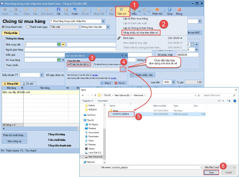 phần mềm kế toán doanh nghiệp misa sme