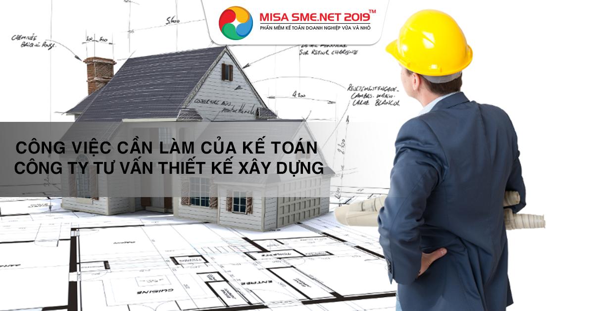 kế toán công ty tư vấn thiết kế xây dựng