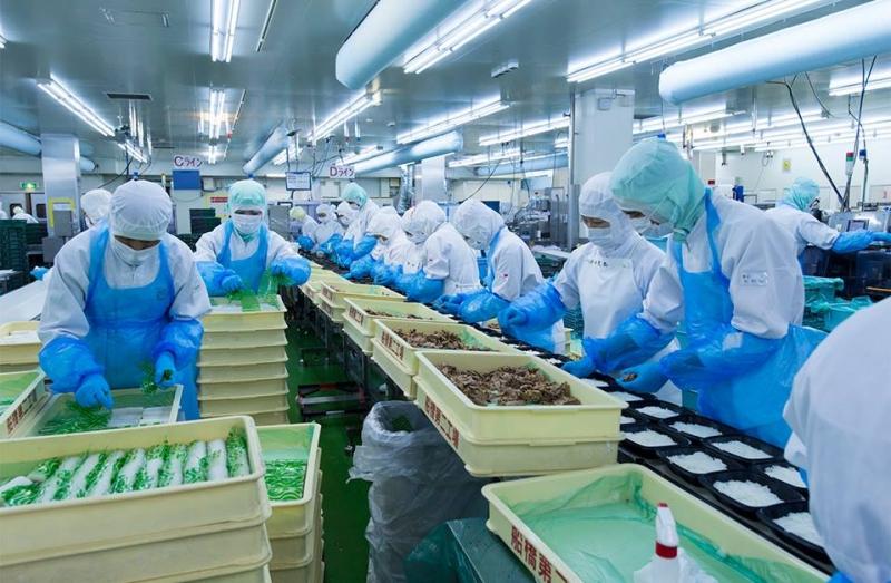 thủ tục thành lập công ty chế biến thực phẩm