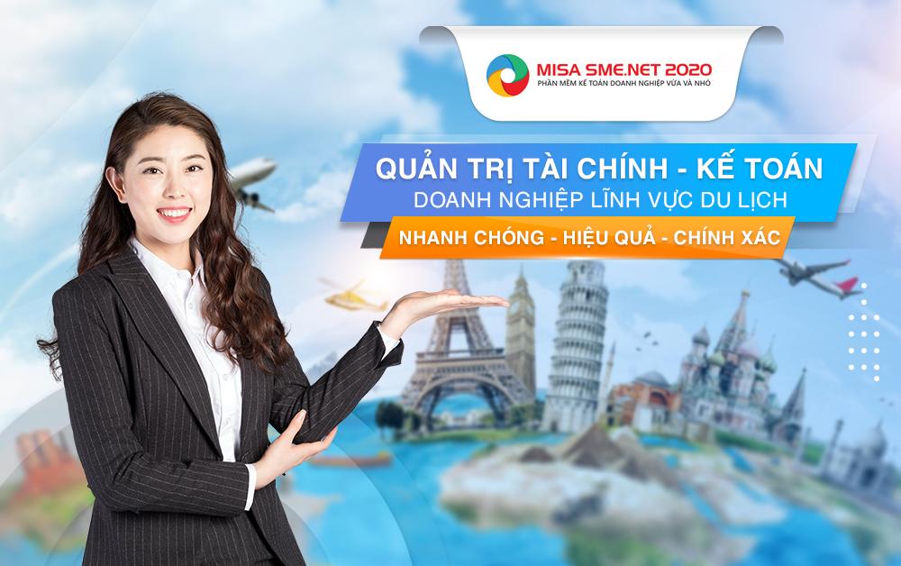 phần mềm kế toán công ty du lịch