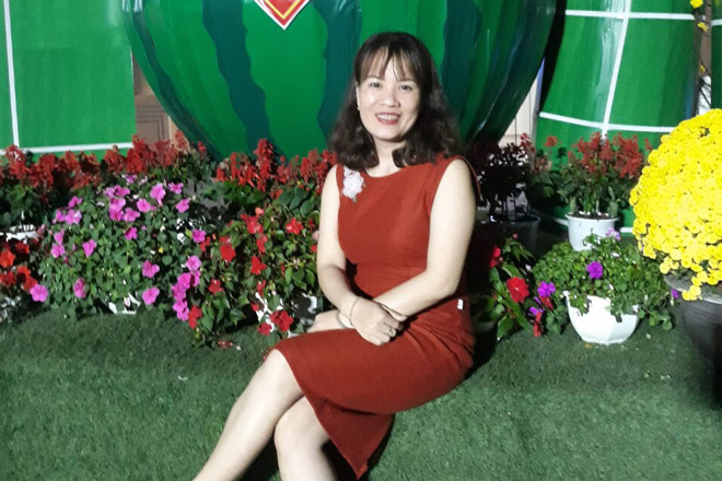 Chị Hoàng Hồng Nhung
