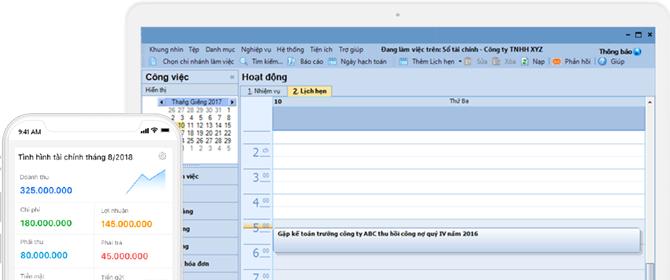 Quản lý nhiệm vụ, lịch hẹn của bản thân và nhân viên một cách hiệu quả