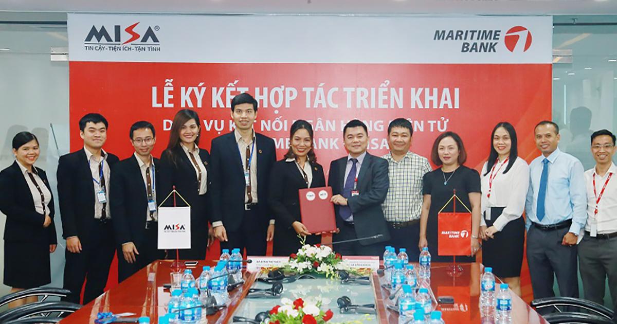 Kết nối với nhiều ngân hàng lớn, MISA BankHub tiên phong trong…