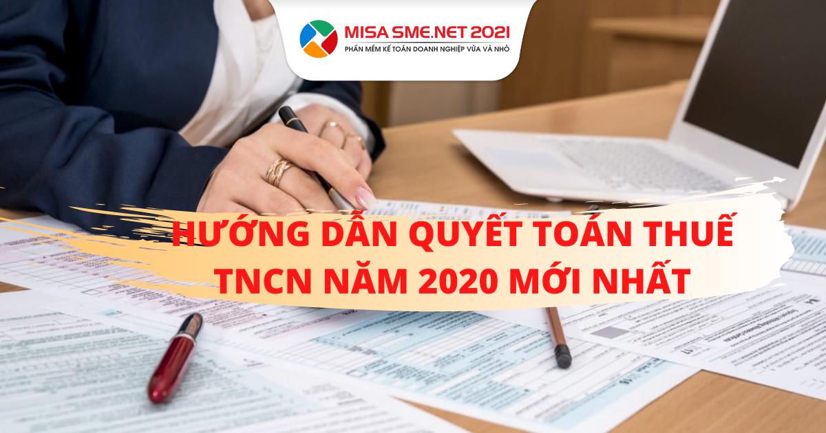 quyết toán thuế TNCN 2020